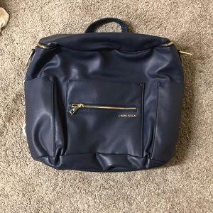 Fawn design original navy diaper bag backpack